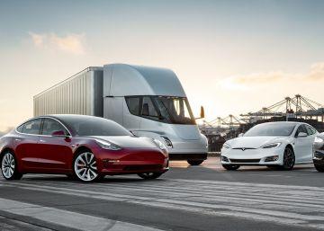 Rango de Modelos Tesla Inc