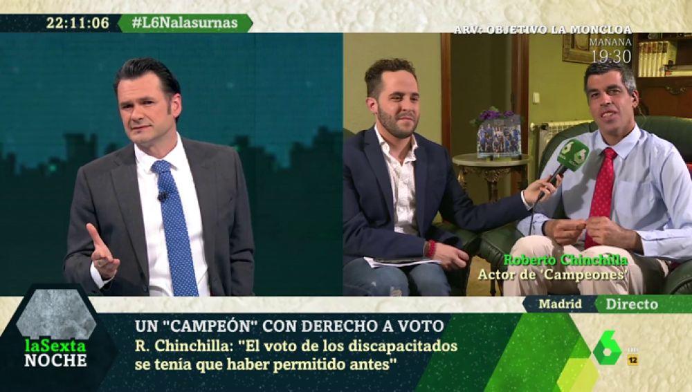 Roberto Chinchilla, un 'campeón' con derecho a voto