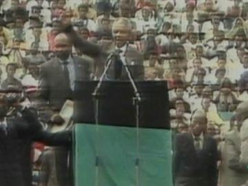 Imagen de archivo de Nelson Mandela
