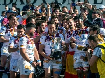 El Alcobendas celebra la Copa del Rey