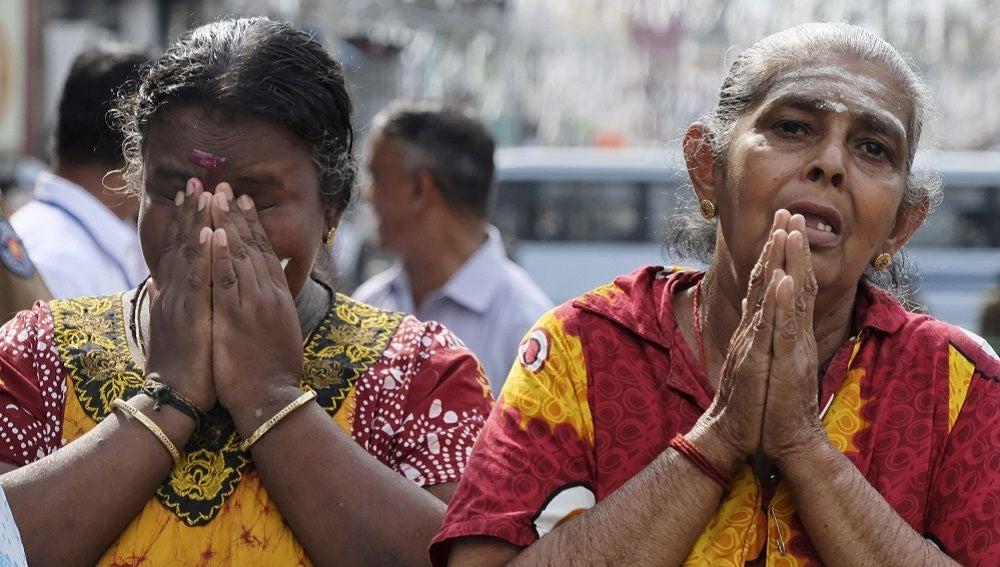 Celebran misas por televisión en Sri Lanka por miedo a que se produzcan nuevos ataques terroristas