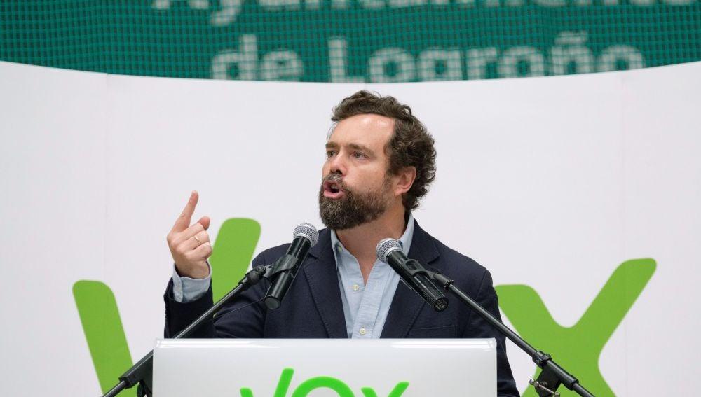 El número tres de la lista de Vox al Congreso, Iván Espinosa de los Monteros