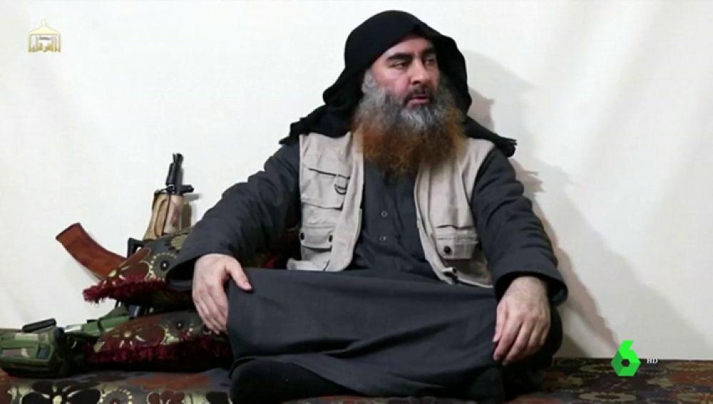 Al Baghdadi, líder de Daesh, reaparece en un vídeo del grupo terrorista tras cinco años