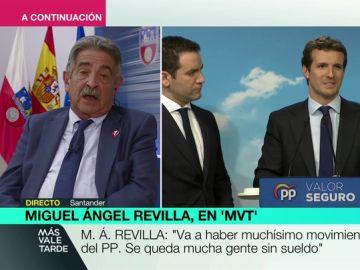 """Miguel Ángel Revilla: """"Casado se ha hecho más de Vox que Abascal y Ciudadanos ha dejado el centro"""""""