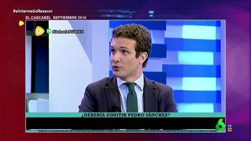 """La hemeroteca de Casado le juega una mala pasada: así cargaba contra Sánchez tras """"perder estrepitosamente"""" en 2016"""