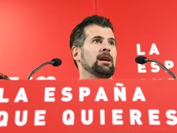Alegría del secretario general del PSOECYL, Luis Tudanca