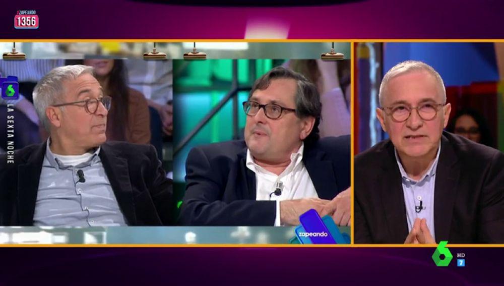 """El 'pique' de Xavier Sardá a Marhuenda tras la victoria de Sánchez: """"Imagino que no lo estás pasando bien, consuélate con que yo sí"""""""
