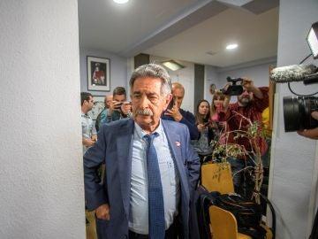 El secretario general del Partido Regionalista de Cantabria (PRC), Miguel Ángel Revilla