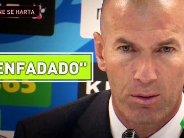 Zidane explota