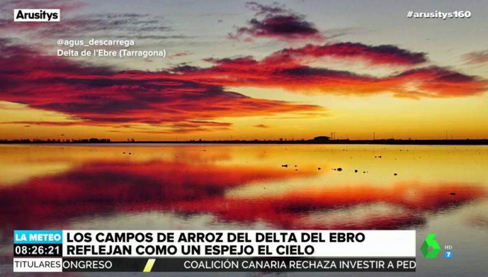 De las puestas de sol en los cultivos de arroz a los campos de amapolas: las imágenes que nos deja la llegada del buen tiempo