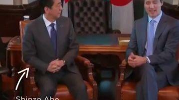 El lapsus del jefe de Gobierno de Canadá al confundir varias veces China con Japón