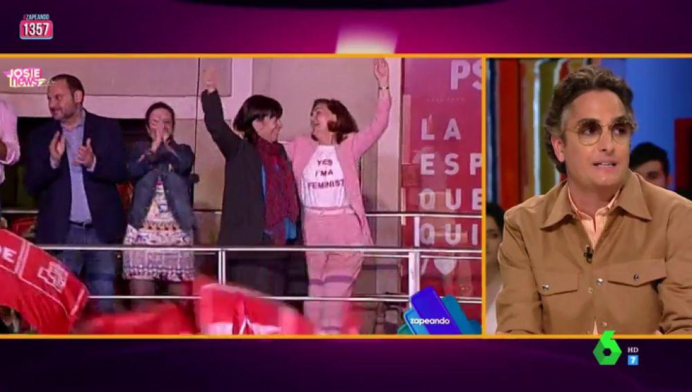 El análisis de Josie del comentado look feminista (e influencer) de Carmen Calvo