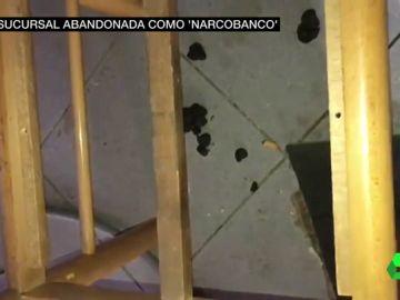 Una sucursal abandonada se convierte en un 'narcobanco' en Madrid