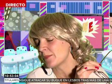 """Mila Ximénez arremete contra Alfonso Arús: """"Es verte la cara y me entra un desánimo crónico que no puedo con él"""""""