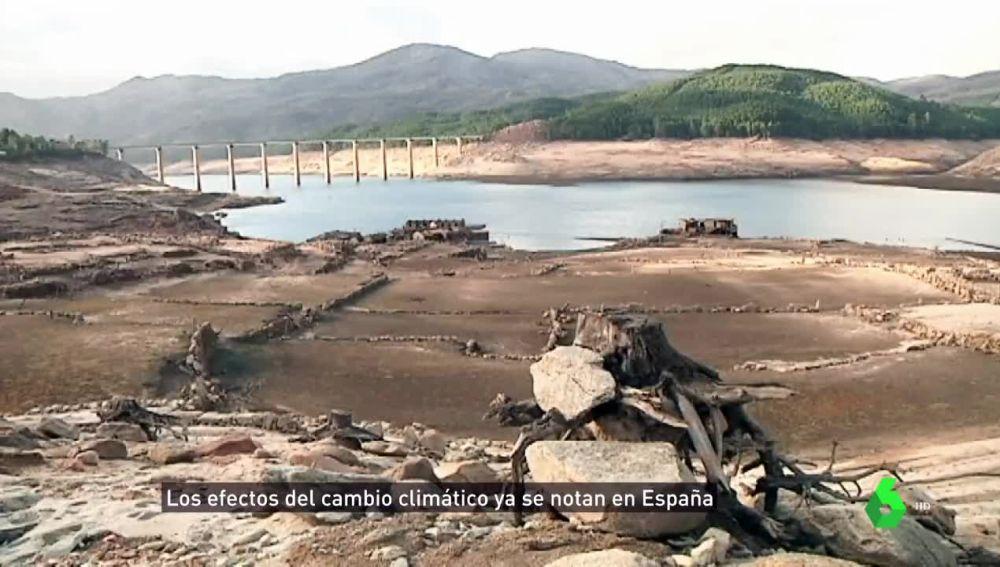 Efectos del cambio climático en España