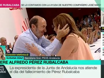 Susana Díaz en Más Vale Tarde