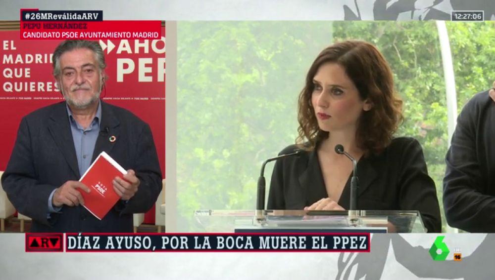 """La contundente respuesta de Pepu Hernández a Vox y Díaz Ayuso: """"El Orgullo es un orgullo para Madrid"""""""