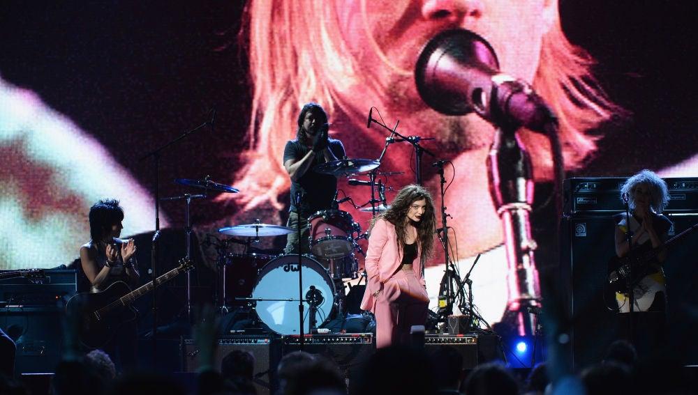 Joan Jett, Dave Grohl of Nirvana
