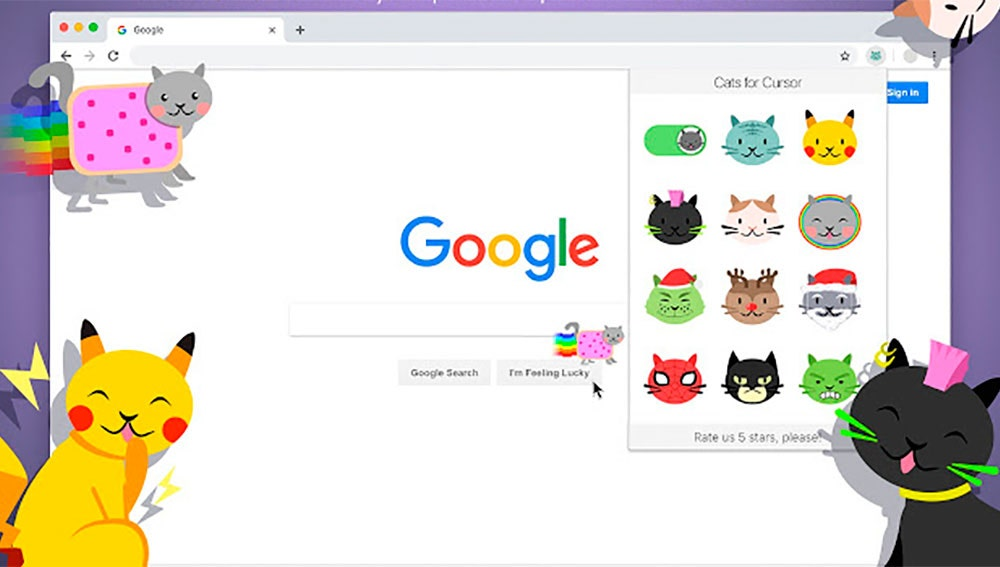 Adorables cursores de gatitos