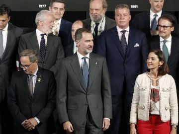 Quim Torra con Felipe VI
