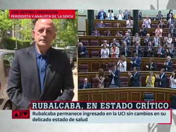 """José Antonio Zarzalejos se emociona al hablar de Rubalcaba: """"No usó ni una puerta giratoria"""""""