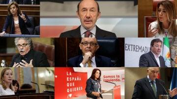 Los políticos recuerdan la figura de Rubalcaba