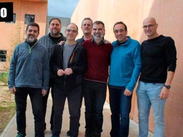 Oriol Junqueras, Jordi Sànchez, Jordi Turull, Josep Rull han logrado escaño en el Congreso