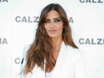 Sara Carbonero durante el evento de Calzedonia en Ibiza