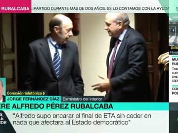 Rucalcaba con Fernández Díaz en una foto de archivo