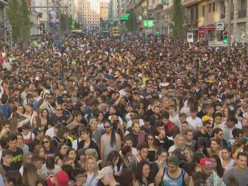 Multitudinaria manifestación a favor de la legalización de la marihuana