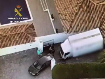 Operación antidroga de Policía, Guardia Civil y los Carabinieri