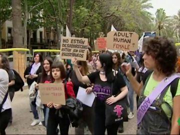Manifestación contra la prostitución