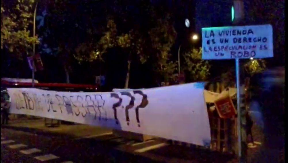 Desalojan a los acampados en Barcelona que protestaban por el elevado precio de la vivienda