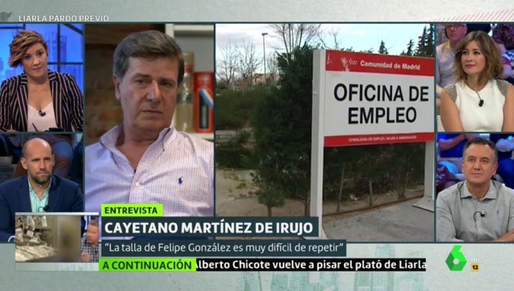 """Cayetano Martínez de Irujo: """"Hay que cambiar la mentalidad de intentar trabajar lo justo para estar subvencionado"""""""