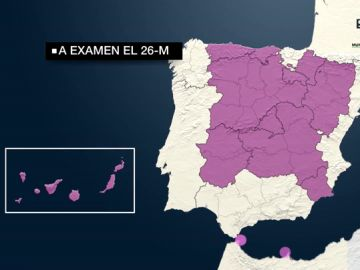 Un mapa completamente rojo o pactos como el de Andalucía: las claves de las elecciones autonómicas