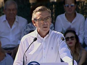 El líder del PP de Aragón, Luis María Beamonte, en una imagen de archivo
