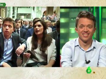 """Errejón 'aclara' su incómodo momento con Rocío Monasterio (Vox): """"He tenido mejores asientos en la vida"""""""