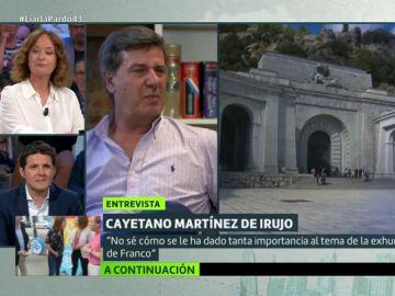 """La opinión de Cayetano Martínez de Irujo sobre la exhumación de Franco: """"El Valle de los Caídos es un sitio terrible"""""""