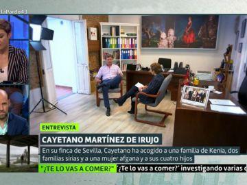 El lado más solidario de Cayetano Martínez de Irujo: acogió a una familia de Afganistán, otra siria y refugiados africanos