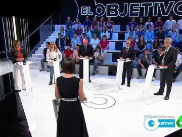 Candidatos a las europeas en El Objetivo