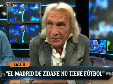 """La dura crítica de Gatti contra Zidane: """"No tiene idea de fútbol, no hizo nada cuando el Real Madrid ganó"""""""