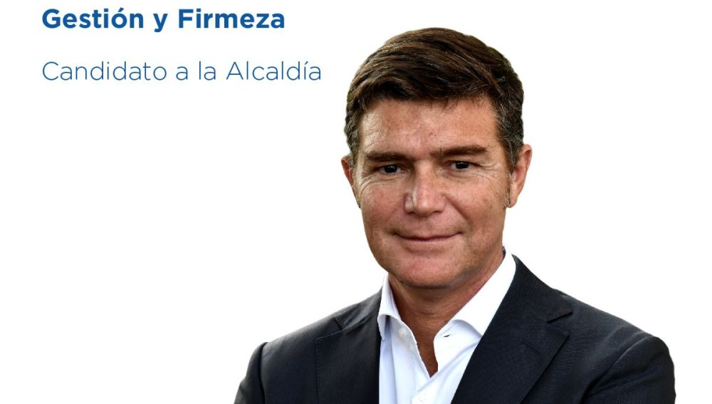 Cartel electoral de Guillermo Díaz Guerra