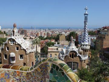 Parc Guell en Barcelona