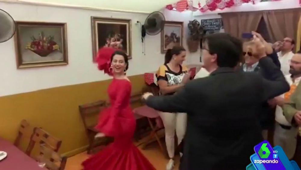 Inés Arrimadas y Juan Marín