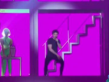 Miki y su rompedora puesta en escena para Eurovisión: así ha sido el primer ensayo de su temazo, 'La Venda'