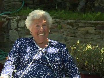 Charito de 95 años, cabeza de lista de 'Abuelas por Patones'