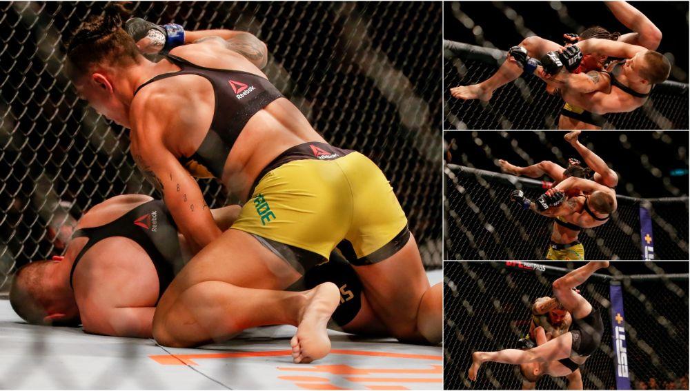 El brutal ko de Jessica Andrade a Rose Namajunas