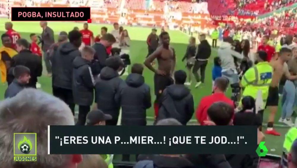 La reacción viral de Pogba: pide perdón tras ser insultado por la afición