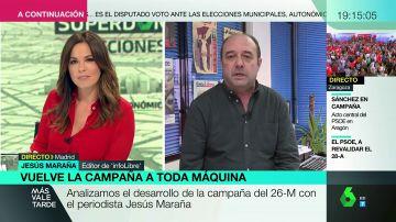 """Jesús Maraña, sobre Díaz Ayuso: """"Puede ser contraproducente que te conozcan por soltar mensajes que casan difícilmente con la realidad"""""""