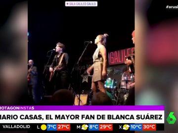 Blanca Suárez sube al escenario en la sala Galileo